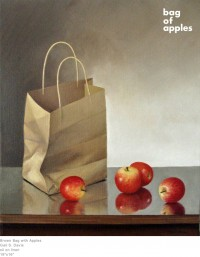 Brown Bag with Apples by Gail S. Davis